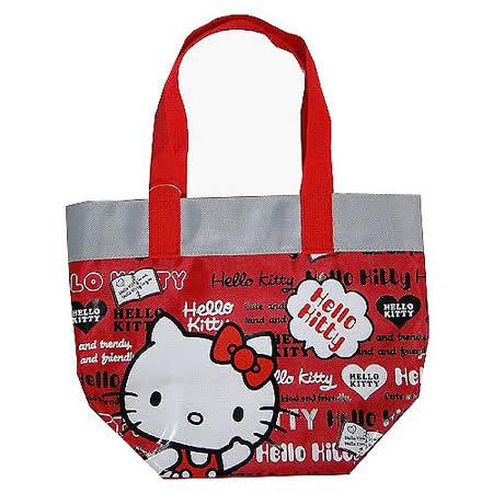 【HELLO KITTY-凱蒂貓】開心上學便當餐袋