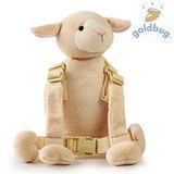 【GOLDBUG】2合1動物防走失背包 - 羊咩咩