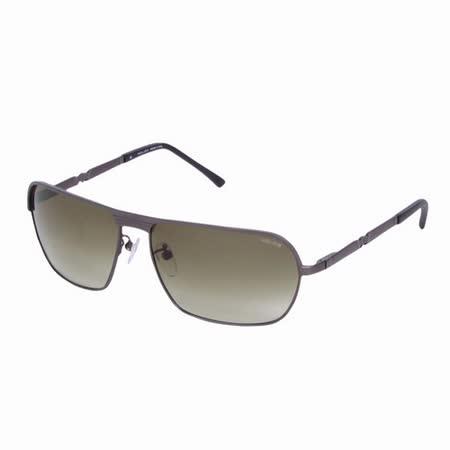 POLICE 都會時尚經典飛行員造型太陽眼鏡 (古銅色) POS8745-0627