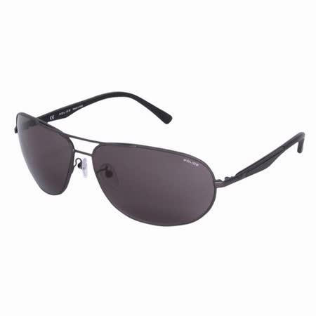 POLICE 都會時尚經典飛行員造型太陽眼鏡 (鐵灰色) POS8757-0627