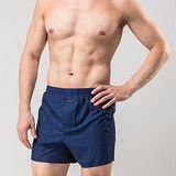 《MORINO摩力諾》耐用織帶素色平口褲-丈青M~XL