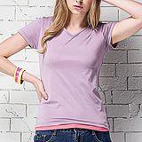 《MORINO摩力諾》抗UV速乾女短袖衫-紫色M~L