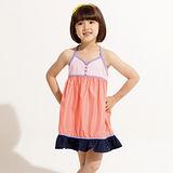 【EverSmile】女童吸濕排汗吊帶裙