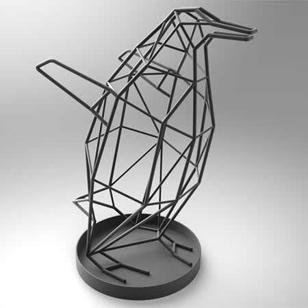 【PINJANG DESIGN】小企鵝傘架 (黑色)