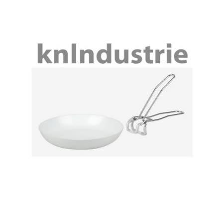 【真心勸敗】gohappy線上購物義大利【KnIdustrie】肯廚-『ABCT無柄系列』28公分奈米雙用平底鍋 (含把)效果愛 買 停車 費