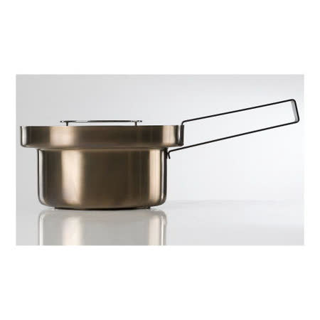 義大利【KnIdustrie】肯廚-『FoodWear食同系列』20公分不鏽鋼雙用平底鍋(含蓋+把)