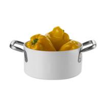 義大利【KnIdustrie】肯廚-『KnPro達人系列』28公分玻璃雙耳深燉湯鍋(含兼盤蓋)