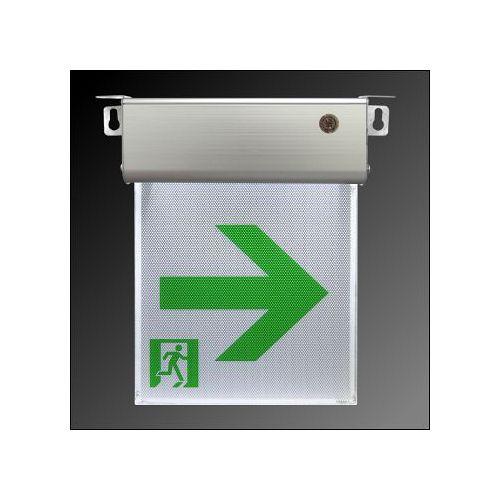 消防器材  小型 1:1 LED 避難方向燈~右向