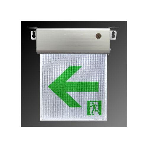 消防器材  小型 1:1 LED 避難方向燈~左向