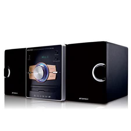 【山水SANSUI】藍芽數位DVD床頭音響組合 MS-655