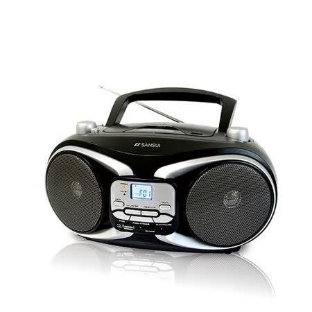【山水SANSUI】CD/MP3/USB/SD/AUX手提式音響 SB-88N