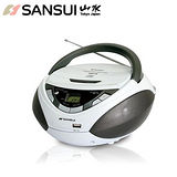 【山水SANSUI】CD/MP3/USB/AUX手提式音響 SB-86N