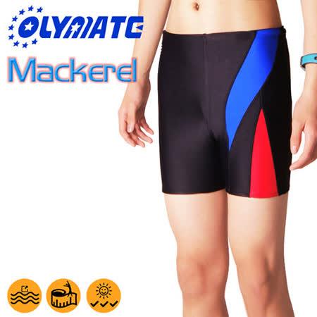 OLYMATE Mackerel 專業四角休閒泳褲
