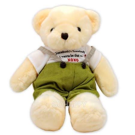 【唐納德】吊帶褲泰迪熊-小
