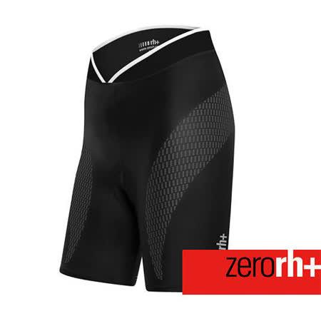 ZERORH+ 力量控制貼花造型平口自行車褲(女) ECD0218