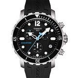 TISSOT Seastar 1000 海洋之星潛水計時腕錶-黑 T0664171705700
