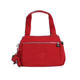 【Kipling】BASIC系列 三夾層手提斜背保齡球包 番茄紅 K-374-5257-153