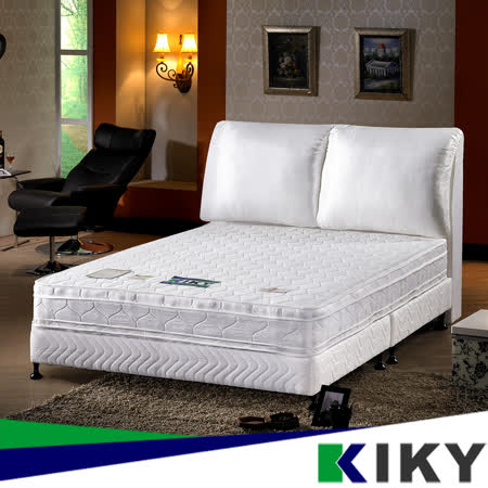 【KIKY】經典四線-正反可睡獨立筒床墊單人加大3.5尺