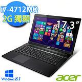 Acer V3-772G- 17.3吋 i7-4712MQ 四核心 FHD螢幕 獨顯效能筆電(V3-772G-74714G1TMakk06)