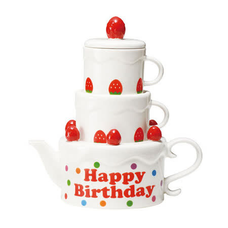 sunart 壺&對杯組 │ 生日蛋糕