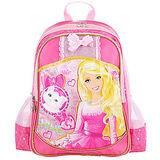 芭比Barbie 小甜心學生書包D-玫紅