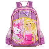 芭比Barbie 小甜心學生書包D-紫色