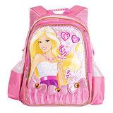 芭比Barbie 小甜心學生書包E-粉紅