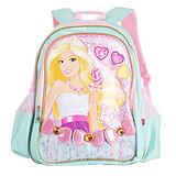 芭比Barbie 小甜心學生書包E-淺綠