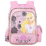 芭比Barbie 小甜心立體護脊書包A-粉紅