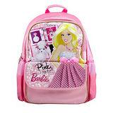芭比Barbie 小甜心學生書包C-粉紅