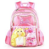 芭比Barbie 魔力甜心學生書包-粉紅