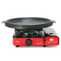 歐王OUWANG-卡式休閒爐JL-168 + 韓國Joyme火烤兩用圓形烤盤NU-O