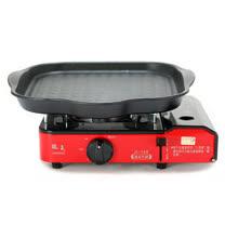 歐王OUWANG-卡式休閒爐JL-168 + 韓國HANARO火烤兩用方形烤盤