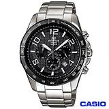 【CASIO卡西歐】EDIFICE流線三眼時速賽車錶 EFR-516D-1A7
