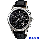【CASIO卡西歐】EDIFICE紳士品格三眼皮帶腕錶 EFR-517L-1A