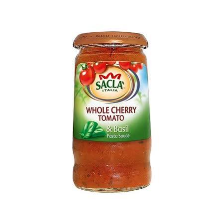 Sacla 羅勒小番茄義大利麵醬350g