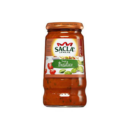 Sacla 羅勒番茄義大利麵醬420g