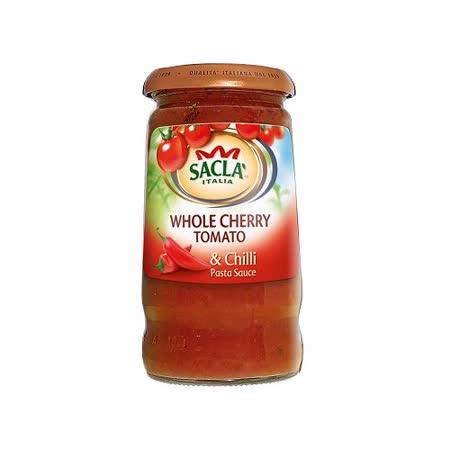 Sacla 紅椒小番茄義大利麵醬350g
