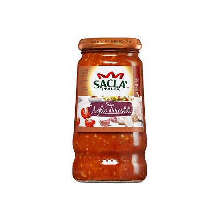 Sacla 烤香蒜番茄義大利麵醬420g