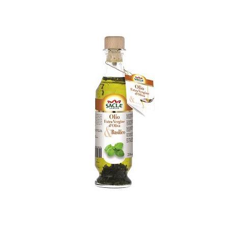 Sacla義大利初榨橄欖油-羅勒風味250ml