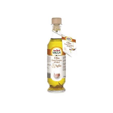 Sacla義大利初榨橄欖油-蒜香風味250ml