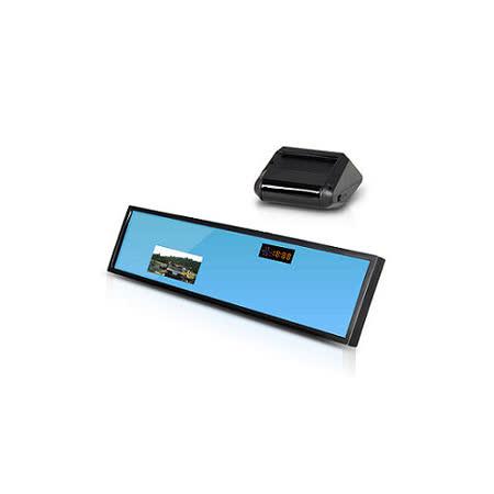 Skylook RM-518 多功能後視鏡行車預警記錄器 (送16G Class10記憶卡+車用桃園行車記錄器三孔擴充器)