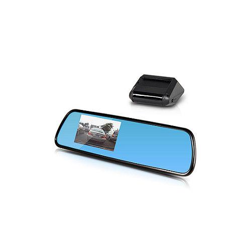 Skylook RM-528 多功能後視鏡行車預警記錄器 (送16G Class10記憶卡+車用三行車記錄器 吸盤孔擴充器)