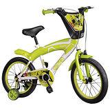 寶貝樂 16吋街頭塗鴉兒童腳踏車/自行車-綠色