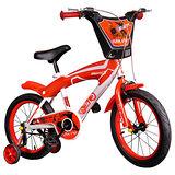 寶貝樂 16吋街頭塗鴉兒童腳踏車/自行車-紅色