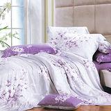 Lily Royal-愛如潮水-雙人加大四件式天絲兩用被床包組