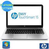【HP】 ENVY TS 15-j106TX 15吋四核獨顯4G觸控筆電