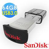 【Sandisk】Ultra Fit 64GB 高速 USB 3.0 迷你隨身碟 (公司貨)