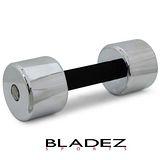 【BLADEZ】8KG電鍍泡棉啞鈴 - 1支