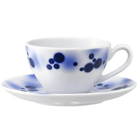 《LSA》Ink濃縮咖啡杯碟4入(100ml)
